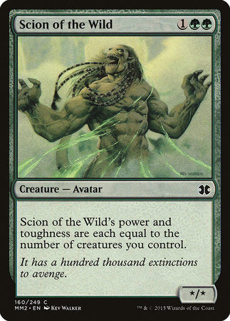 Scion of the Wild [Modern Masters 2015] | All About Games
