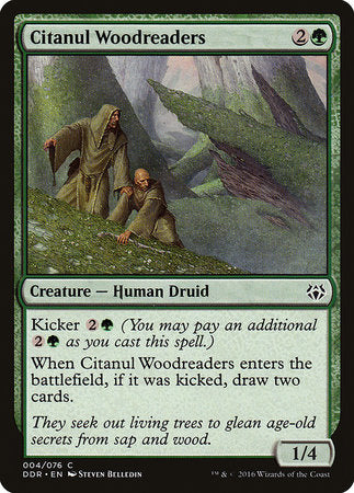Citanul Woodreaders [Duel Decks: Nissa vs. Ob Nixilis] | All About Games