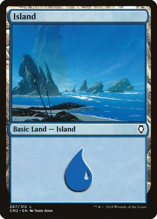 Island (287) [Commander Anthology Volume II] | All About Games