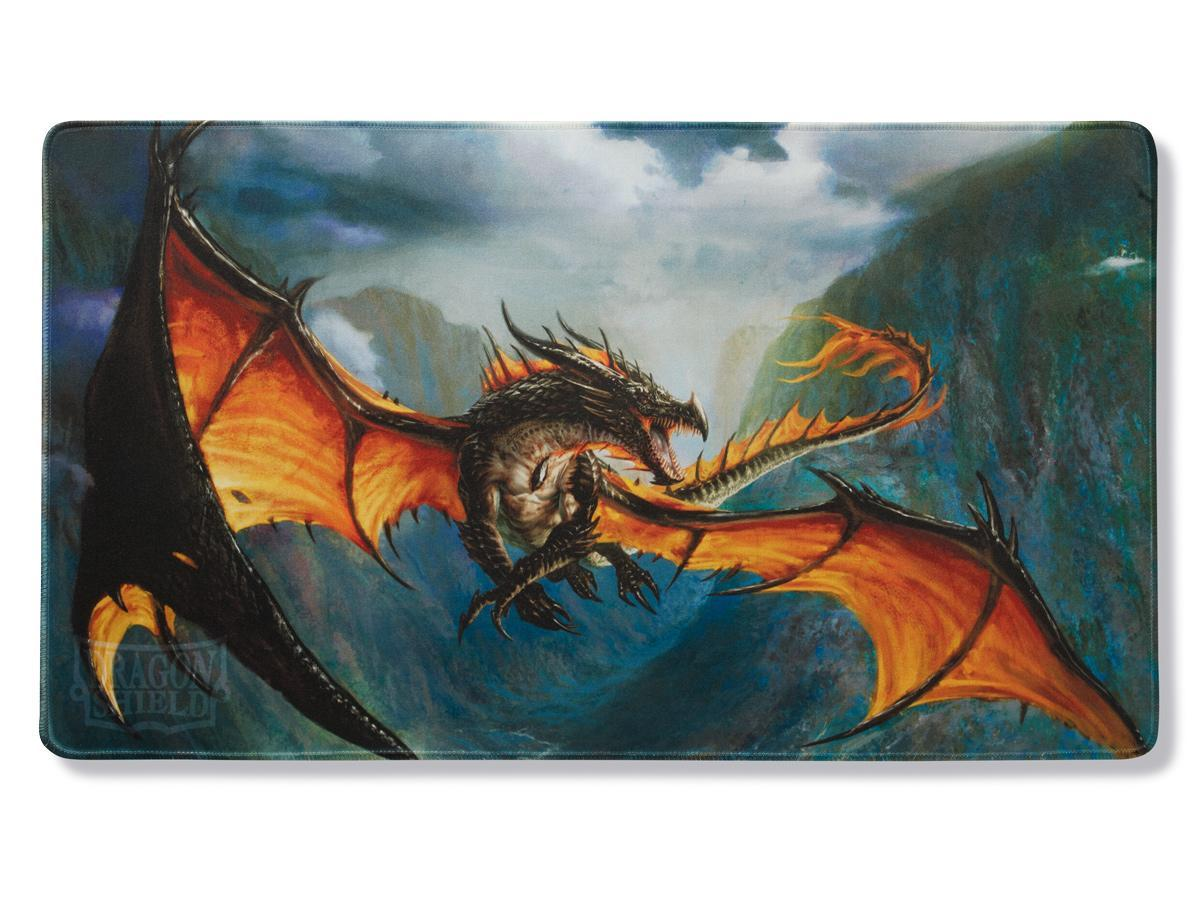 Dragon Shield Playmat – 'Amina' Obsidian Queen | All About Games