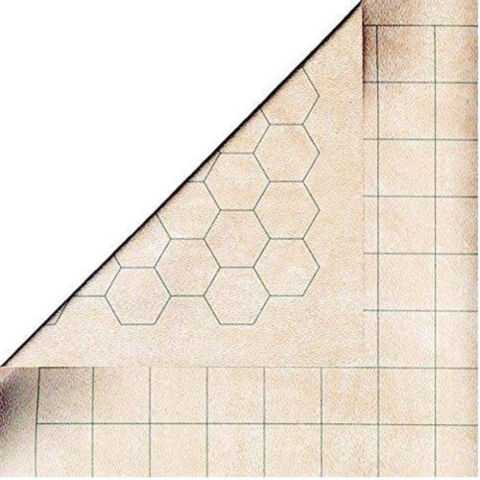 "Reversible Megamat 1"" sq/hex 