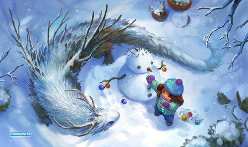 Let It Snow Playmat | All About Games