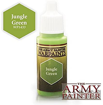 Warpaints: Jungle Green 18ml | All About Games