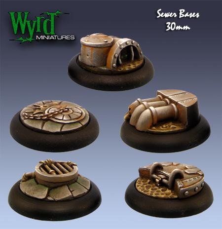 Sewer 30mm Bases | All About Games