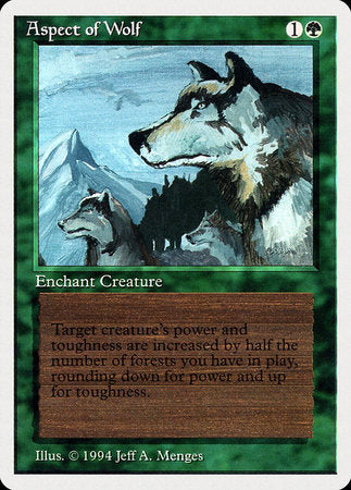 Aspect of Wolf [Summer Magic / Edgar] | All About Games