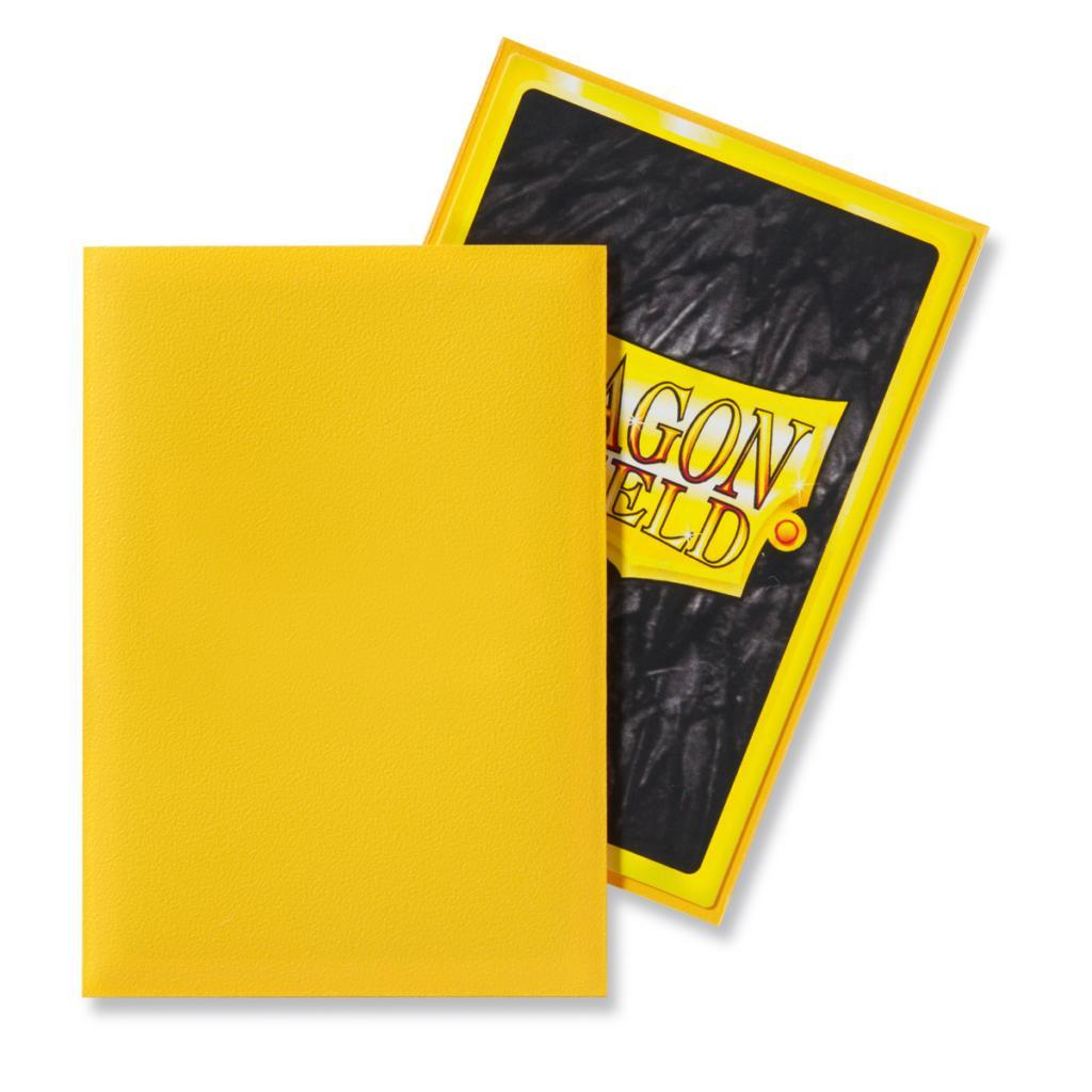 Dragon Shield Matte Sleeve - Yellow 'SheSha' 60ct | All About Games