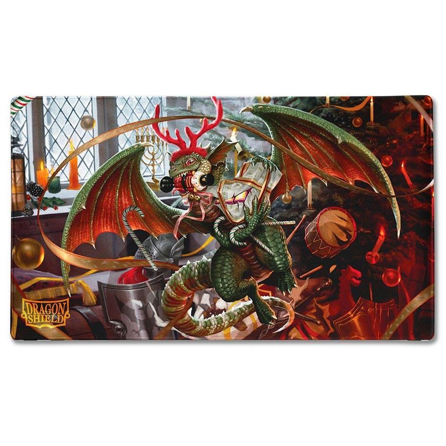 Playmat: Christmas Dragon 2020 | All About Games