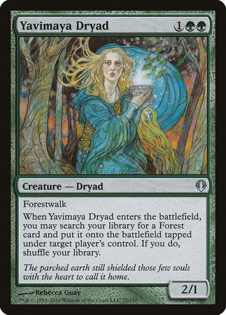 Yavimaya Dryad [Archenemy] | All About Games
