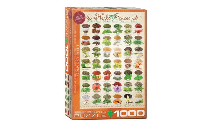 Herbs and Spices 1000pc | All About Games