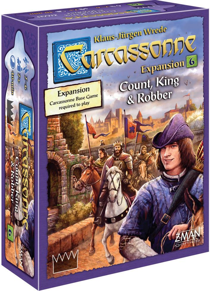 Carcassonne Expansion 6 Count, King and Robber | All About Games