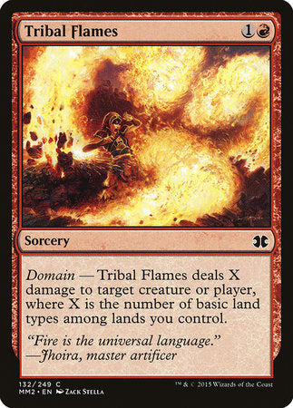 Tribal Flames [Modern Masters 2015] | All About Games