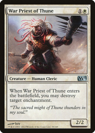 War Priest of Thune [Magic 2013] | All About Games