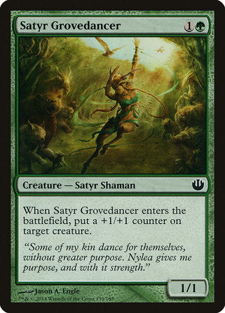 Satyr Grovedancer [Journey into Nyx] | All About Games