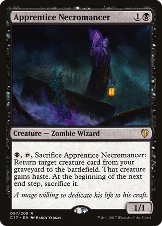 Apprentice Necromancer [Commander 2017] | All About Games