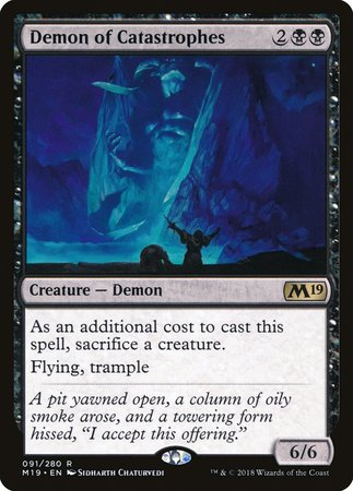 Demon of Catastrophes [Core Set 2019] | All About Games