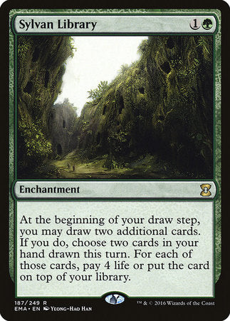 Sylvan Library [Eternal Masters] | All About Games