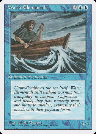 Water Elemental [Fourth Edition] | All About Games