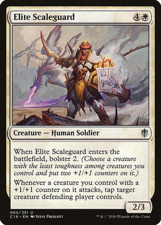 Elite Scaleguard [Commander 2016] | All About Games