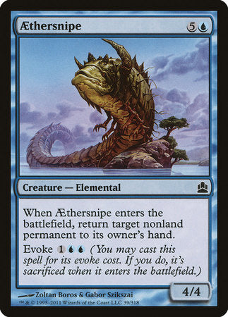 Aethersnipe [Commander 2011] | All About Games
