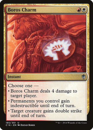Boros Charm [Commander 2016] | All About Games