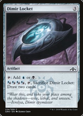 Dimir Locket [Guilds of Ravnica] | All About Games