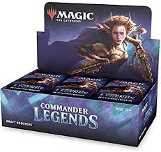 Commander Legends Booster Box | All About Games