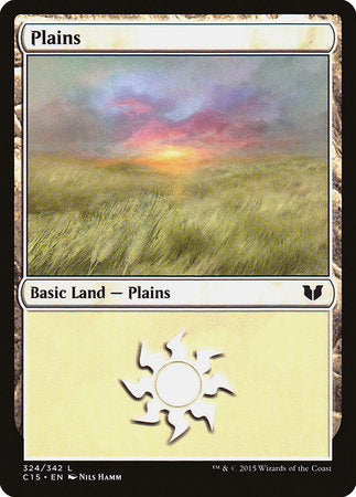 Plains (324) [Commander 2015] | All About Games
