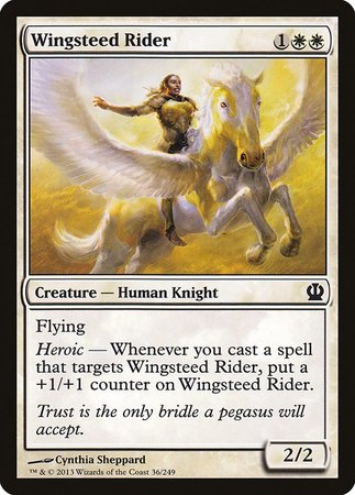 Wingsteed Rider [Theros] | All About Games