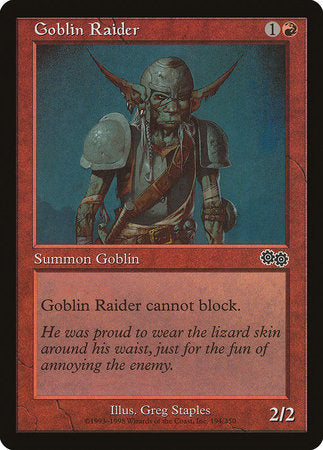 Goblin Raider [Urza's Saga] | All About Games