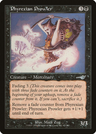 Phyrexian Prowler [Nemesis] | All About Games