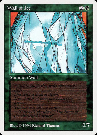 Wall of Ice [Summer Magic / Edgar] | All About Games