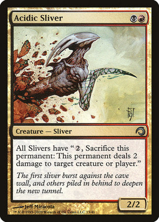 Acidic Sliver [Premium Deck Series: Slivers] | All About Games
