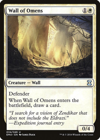 Wall of Omens [Eternal Masters] | All About Games