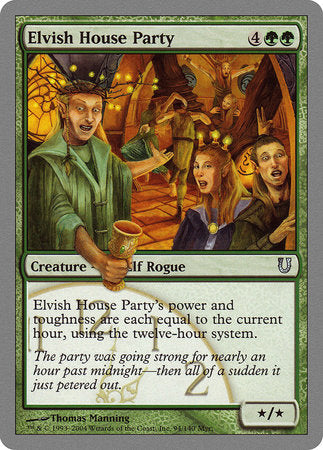 Elvish House Party [Unhinged] | All About Games