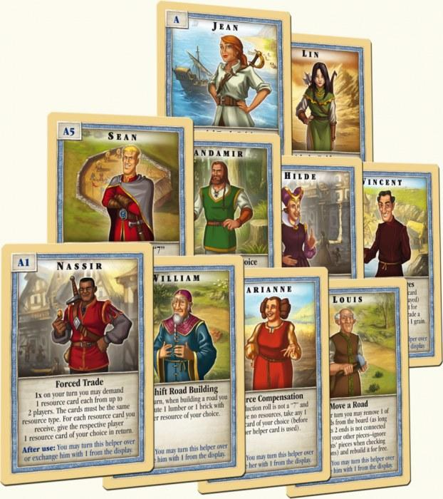 Catan Scenarios – Helpers of CATAN | All About Games