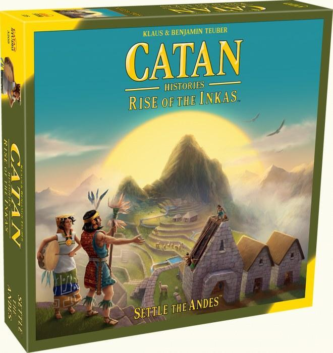 CATAN - Rise of the Inkas | All About Games
