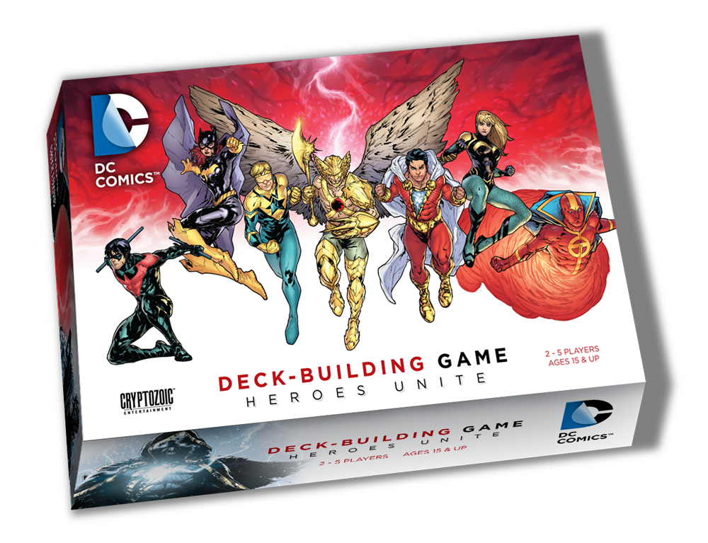 DC Comics Deck-Building Game: Heroes Unite | All About Games