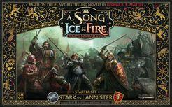 A Song of Fire & Ice Starter Set Stark Vs Lannister | All About Games