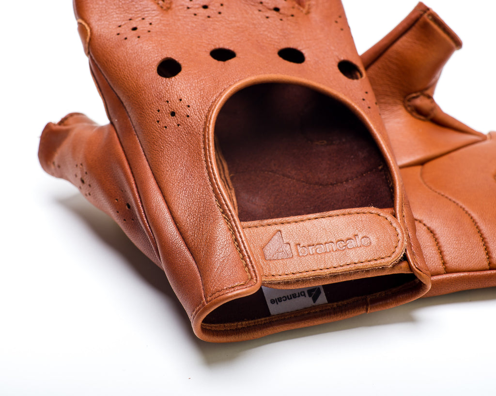 Leather Cycling Gloves – Brancale