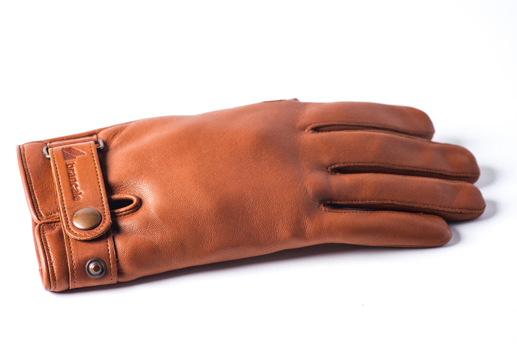 Winter Leather Cycling Gloves Brancale