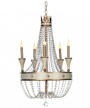 french inspired orleans chandelier