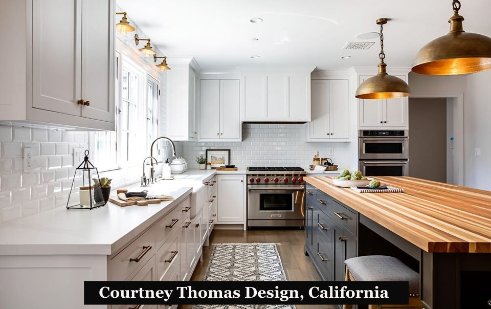 courtney thomas design california kitchen