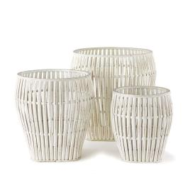 bamboo baskets beachy