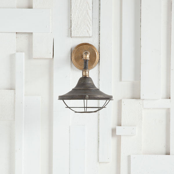 Industrial Farmhouse Sconce - CENTURIA