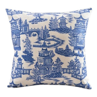 Blue Willow Pillow Cover I - CENTURIA