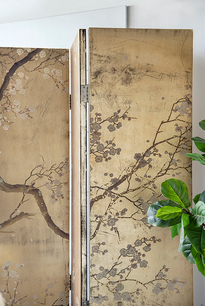 Chinoiserie Folding Screen