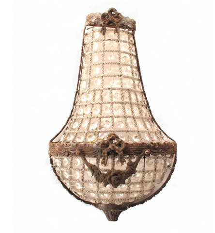 VINTAGE FIND: French Parisian Sconces - CENTURIA