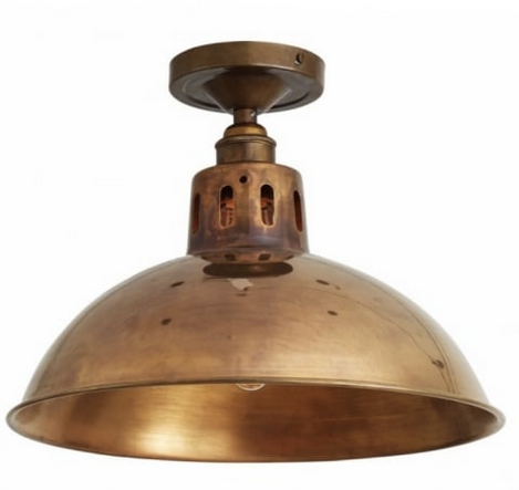 Vintage Inspired Flush Mount Ceiling Light - CENTURIA