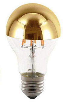 Chrome Dipped Filament Bulb - CENTURIA