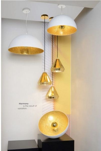Modern Dome Pendant Light - CENTURIA